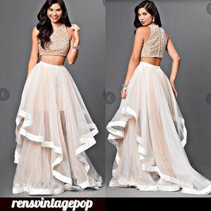 Terani Couture KILLA Red Carpet Prom 2 pc DRESS